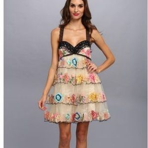 Free people rambling rose dress. NWT size 8
